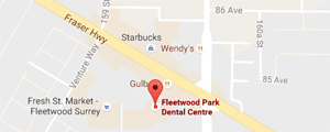 Fleetwood Park Dental Centre Location
